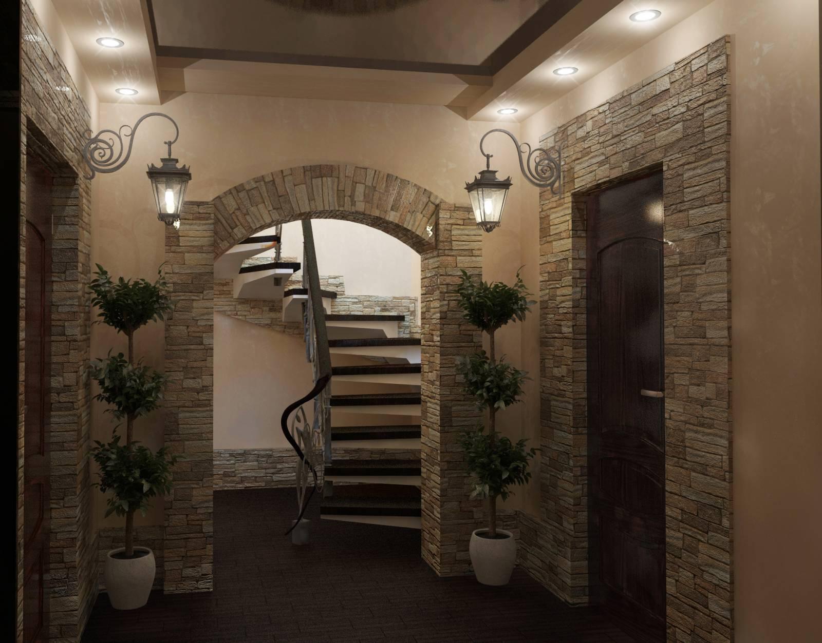 Интерьер и дизайн частного дома фото
